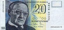 20 markkaa reverse