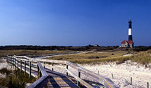 English: Fire Island Lighthouse, Long Island, NY