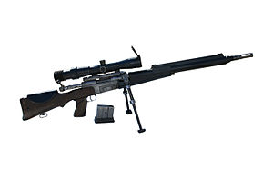 FR F2 sniper rifle - GIAT FR F2
