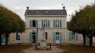 Nuaillé-sur-Boutonne Commune in Nouvelle-Aquitaine, France