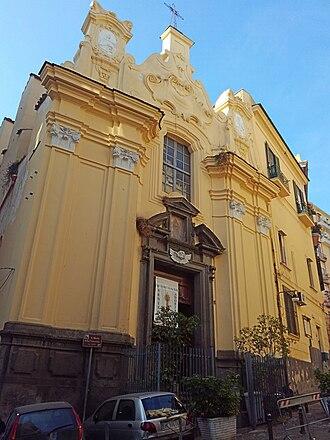 Santa Maria della Concordia - Facade