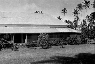 Leone, American Samoa - Fagalele Boys School in Leone may be the oldest building on Tutuila Island.