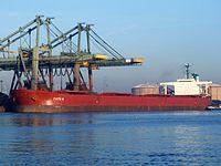 Faith N - IMO 8618425 - Callsign H9MS - 22dec07, Port of Rotterdam, Holland 21-Dec-2007.jpg
