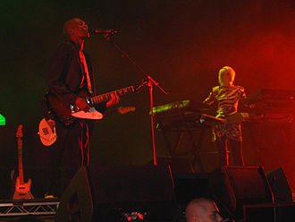 Faithless - Faithless performing at Budapest Sports Arena, on their last tour, The Dance Never Ends, on 21 March 2011