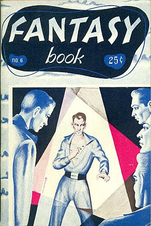 """Cordwainer Smith - Smith's first professionally published sf story, """"Scanners Live in Vain"""", originally appeared in Fantasy Book in 1950"""