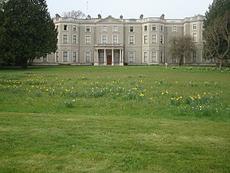 Farmleigh - Front of Farmleigh House