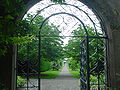 Farmleigh Dublin - Gardens - through the gate.jpg