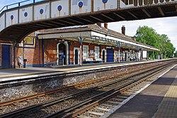 Farncombe Railway, view of North Platform.jpg