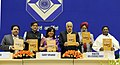 Farooq Abdullah releasing the Indian Police Journal, 'The Intelligence Bureau the First 125 Years', at the 25th I.B. Centenary Endowment Lecture, in New Delhi. The Minister of State for Personnel.jpg