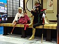 Fate Gudaguda Honnoji cosplayers of Okita Sōji and Oda Nobunaga 20170813b.jpg