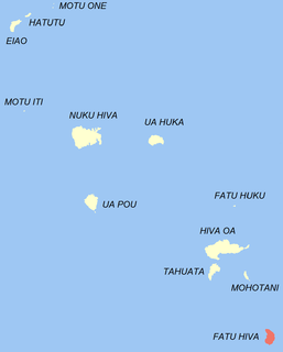 Fatu Hiva Commune in French Polynesia, France