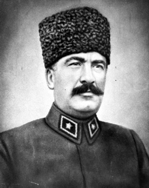 Seventh Army (Ottoman Empire) - Mustafa Fevzi Pasha, commander of the Seventh Army in June 1918