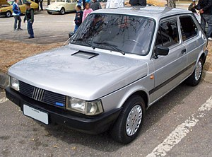 Fiat 147 - Image: Fiat 147 late