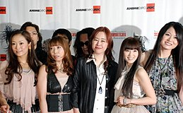 FictionJunction at Anime Expo 2012.jpg