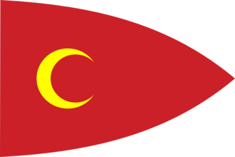 Russo-Persian War (1722–1723) - Image: Fictitious Ottoman flag 2