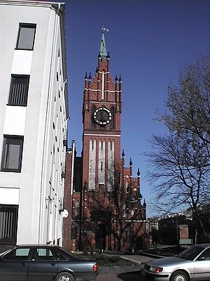 Church of the Holy Family, Kaliningrad - Image: Filarmonia 1