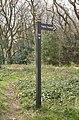 Fingerpost at Montgomery Hill, FP14.jpg