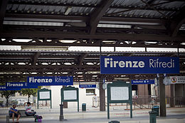Firenze Rifredi train station - Italy - 3 Aug. 2009 - (1).jpg