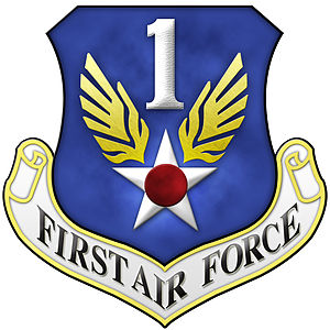 United States Department of the Air Force - Image: First Air Force Emblem