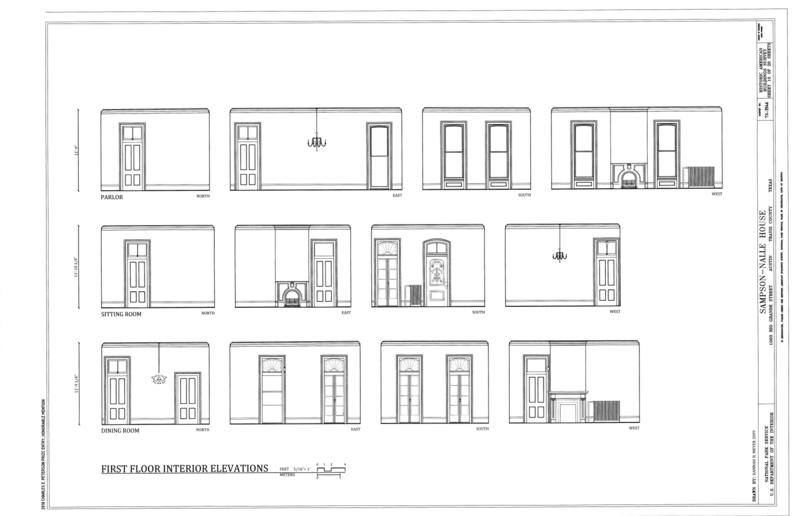 First Floor Elevation Of House : Kitchen elevations in autocad joy studio design gallery