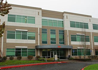 Fiserv - Office in Hillsboro, Oregon, formerly headquarters of Corillian