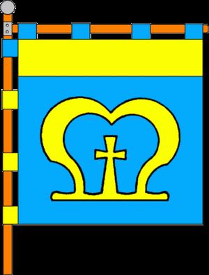 Mostyska - Image: Flag of Mostyska