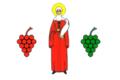 Flag of Praskoveya (Stavropol krai).png