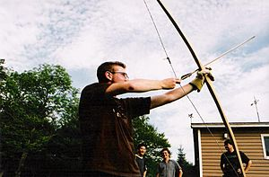 Flatbow - An American flatbow made out of ash