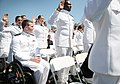 Flickr - Official U.S. Navy Imagery - A Midshipmen 1st Class watches as his classmates take the oath of office during the U.S. Naval Academy Class of 2012 graduation and commissioning ceremony..jpg