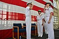 Flickr - Official U.S. Navy Imagery - Officers salute each other at a command turned over..jpg