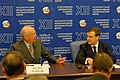 Flickr - World Economic Forum - Klaus Schwab, Dmitry Medvedev - Russia CEO Roundtable 2008 (4).jpg