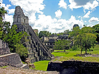 4th century - Tikal had a population of about 100,000 when it was conquered by Teotihuacan, less than a fourth of its peak population