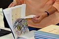 Flickr - boellstiftung - geöffnetes Exemplar der Romanskizzen.jpg