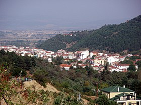 Florina (city), Florina prefecture, Greece - From the Northwest (National Road 2 to Vigla) - 02.jpg