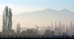 Fog clearing, South Canterbury, New Zealand, 5 August 2005.jpg
