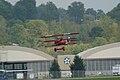 Fokker Dr.I Manfred Richthofen Landing 01 Dawn Patrol NMUSAF 26Sept09 (14413310388).jpg