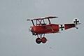 Fokker Dr.I Manfred Richthofen Pass two 04 Dawn Patrol NMUSAF 26Sept09 (14576895066).jpg