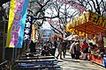 Food Stalls in Ueno Park - panoramio.jpg