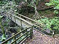 Footbridge over Hebblethwaite Hall Gill - geograph.org.uk - 1528482.jpg