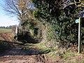 Footpath, to Parsonage Farm - geograph.org.uk - 1746192.jpg