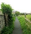 Footpath - Boston Road, Clifford - geograph.org.uk - 949937.jpg