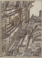 Foreshortened or Trompe L'Oeil View of the Architecture Surrounding a Courtyard MET 52.570.1.jpg