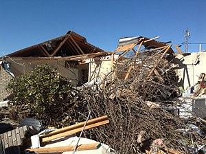 Tornadoes of 2014 - High-end EF2 damage in Fort Payne, AL.