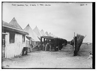 Fort Hancock, Texas - Fort Hancock in 1916