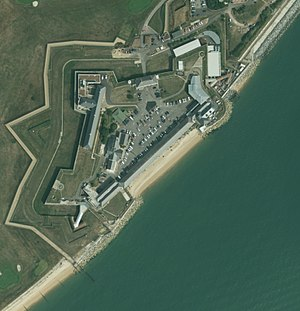 Fort Monckton - Aerial view