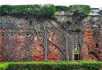 Wall of Fort Zeelandia/Fort Anping. Fort Zeelandia, Tainan (Taiwan).jpg
