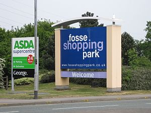 Blaby District - Fosse Shopping Park entrance