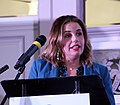 """Foyle MP Elisha McCallion speaking at the """"From Civil Rights to the Good Friday Agreement and beyond"""" event. (27547312738).jpg"""