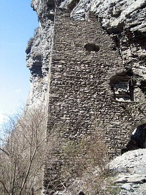 Fracstein Castle - Image: Fracstein Süd