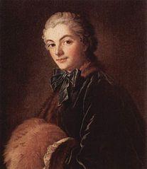 Jeune femme au manchon